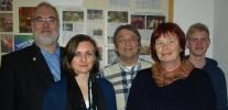Fidelio-Vorstand nach der Mitgliederversammlung 2013