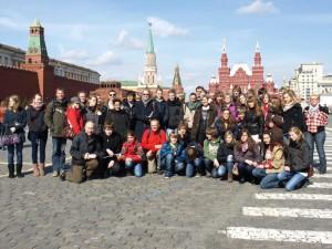 Auf dem Roten Platz in Moskau (Foto: Gerlinde Rau)