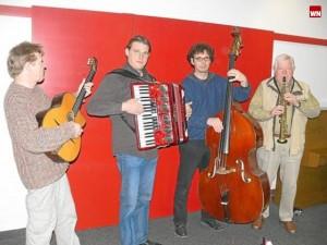 Das Akustik Swing Quartett