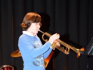 Marie Singer gewann den Lehrerpreis im 1. Konzert